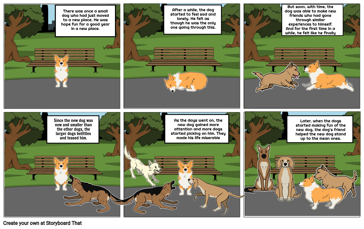 English Midterm Story board