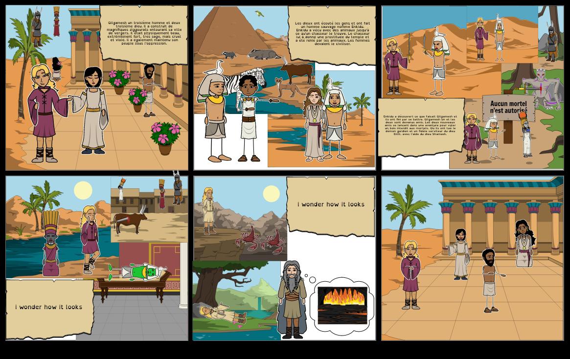 Gilgamesh: L'aventure du roi d'Uruk