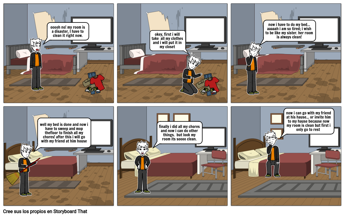 Ev#1 Comic Strip