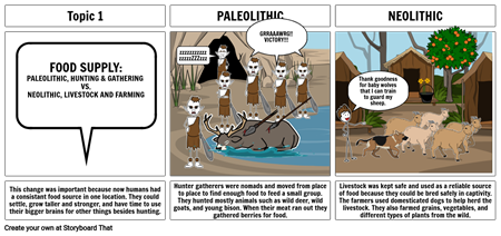 The thing with Paleolithic and Neolithic people