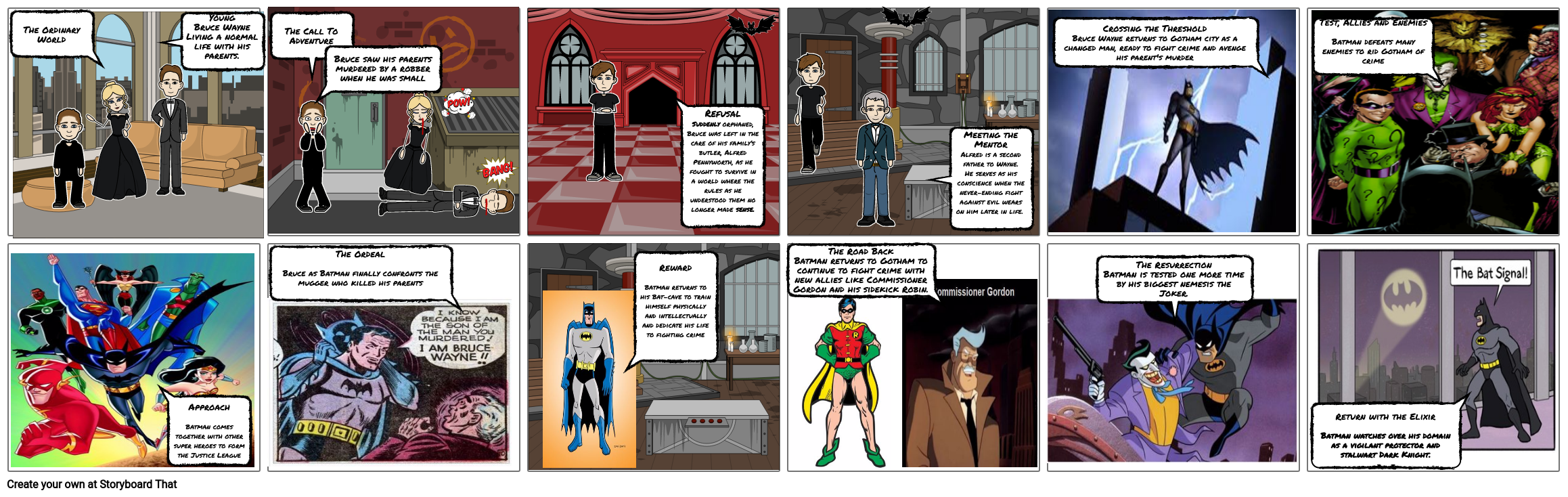 Batman: A Hero's Journey