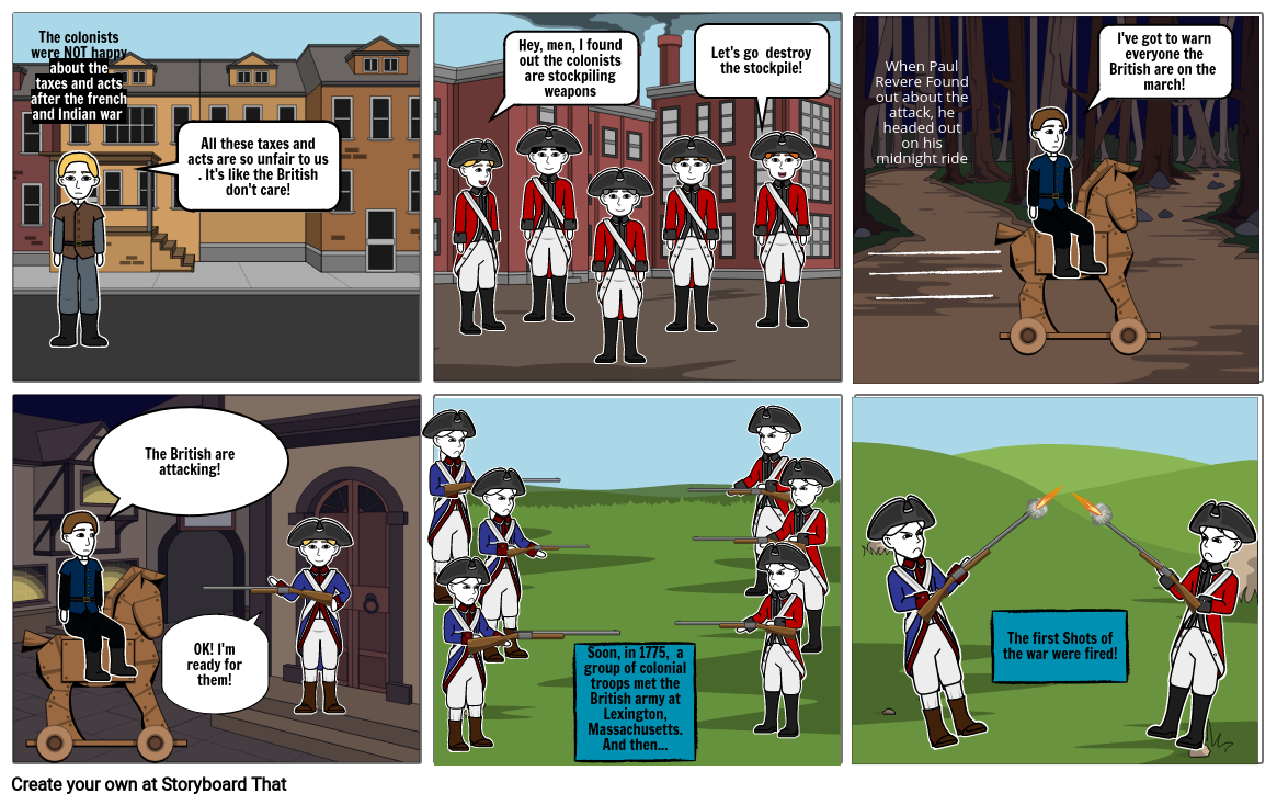 The cause of the revolutionary war