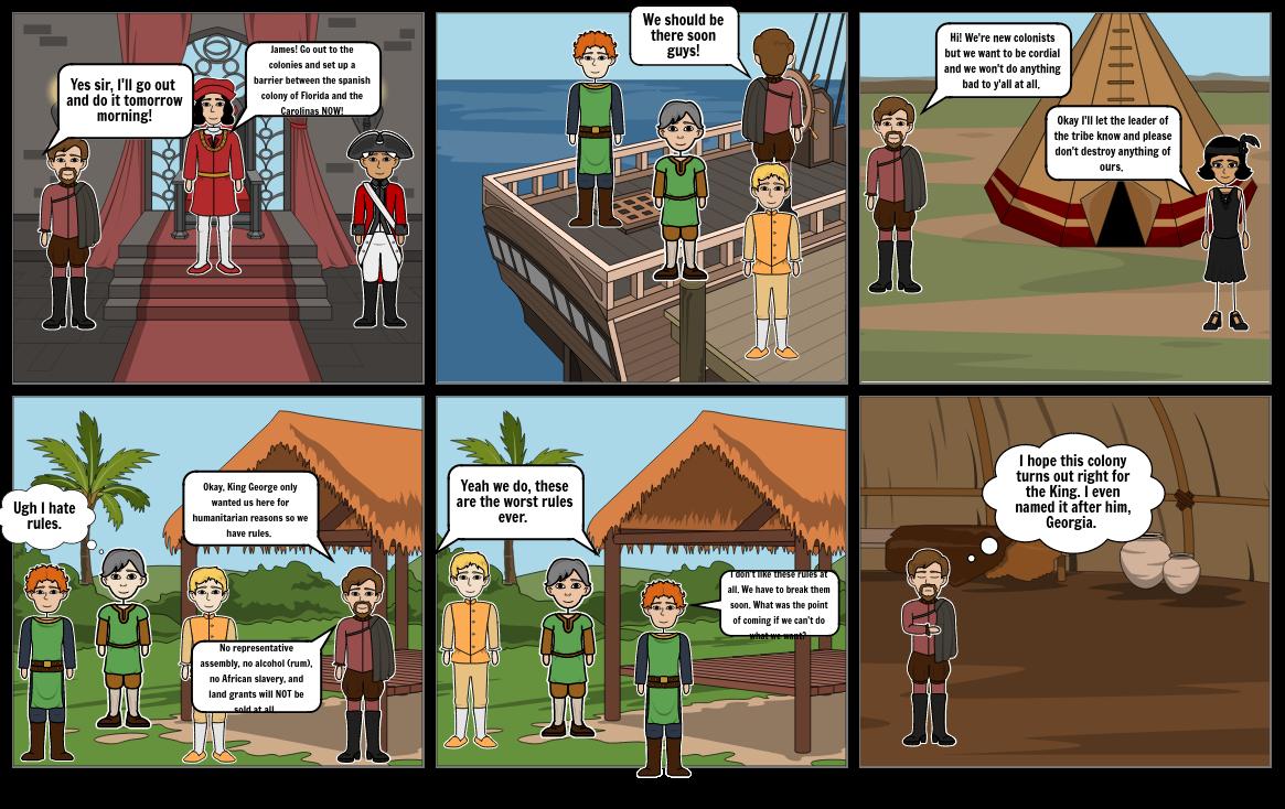 Life In the Colonies Comic -- Jordyn Jones