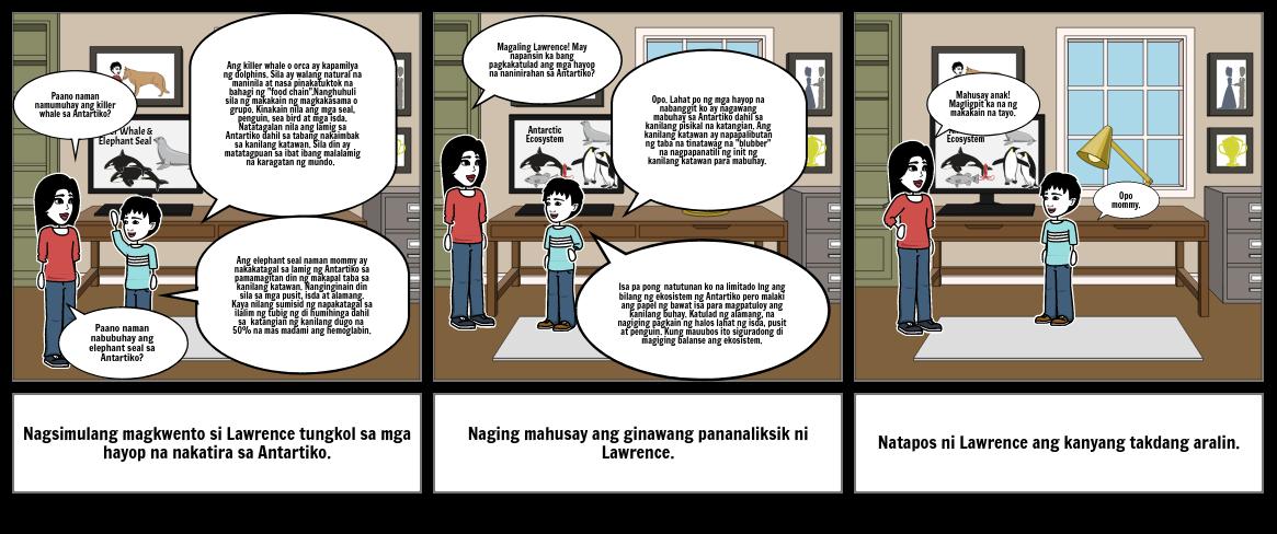 proyekto sa Agham, Filipino at English part 2