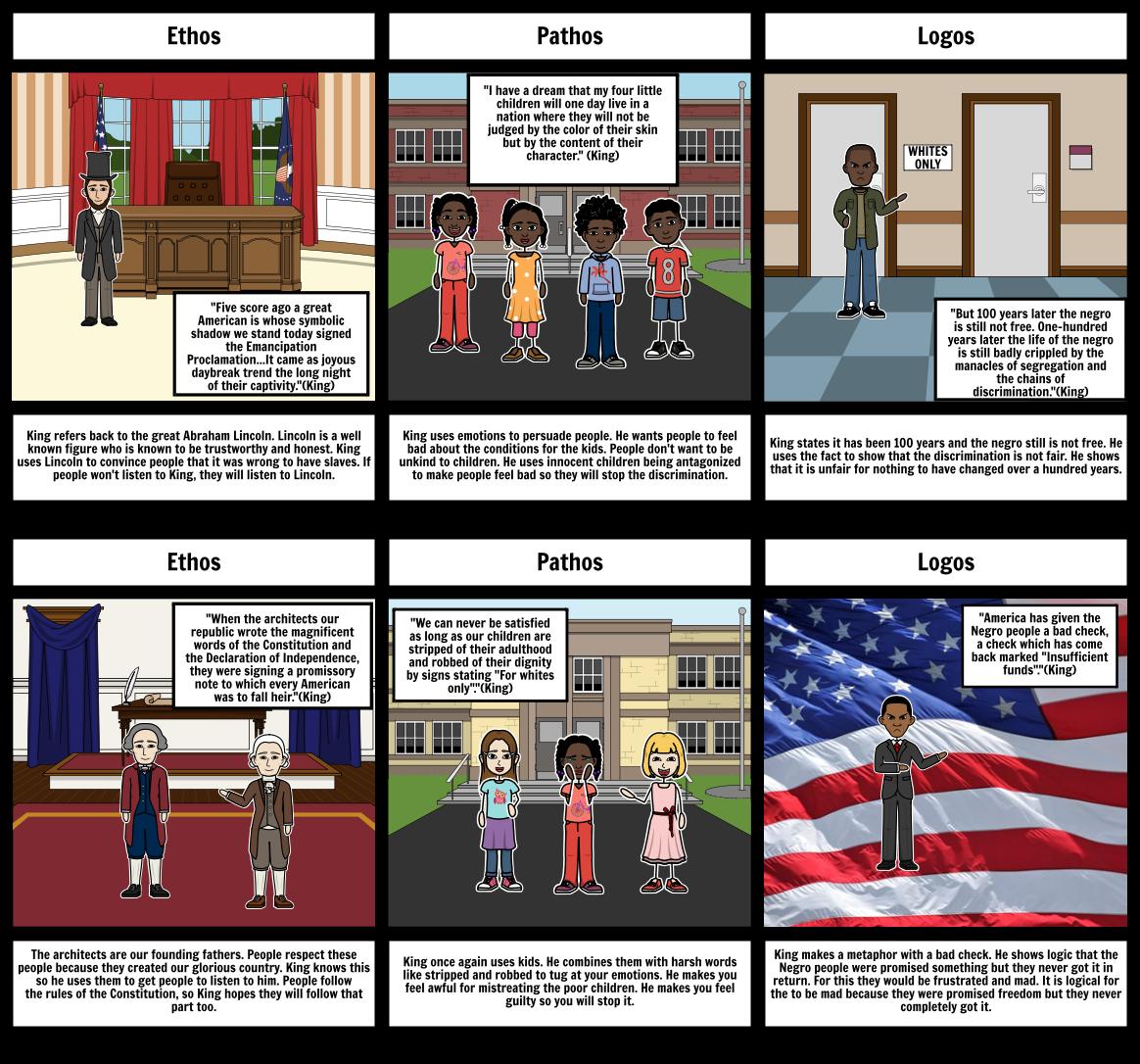 MLK Storyboard -Mason H