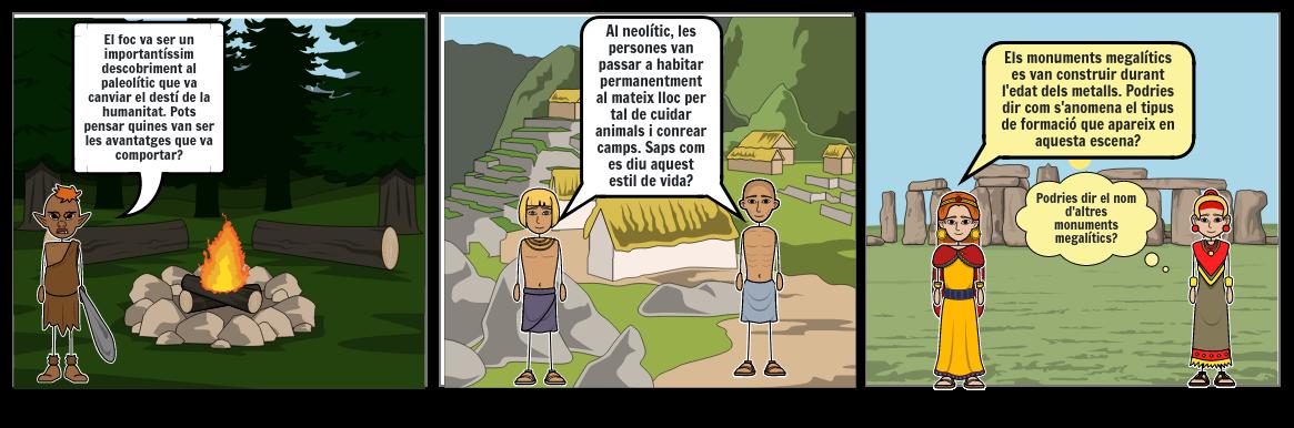Adaptació prehistòria