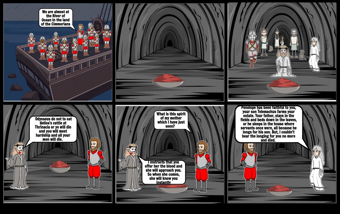 Odyssey scene