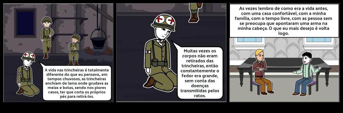 Vida dos soldados na 1°Guerra Mundial