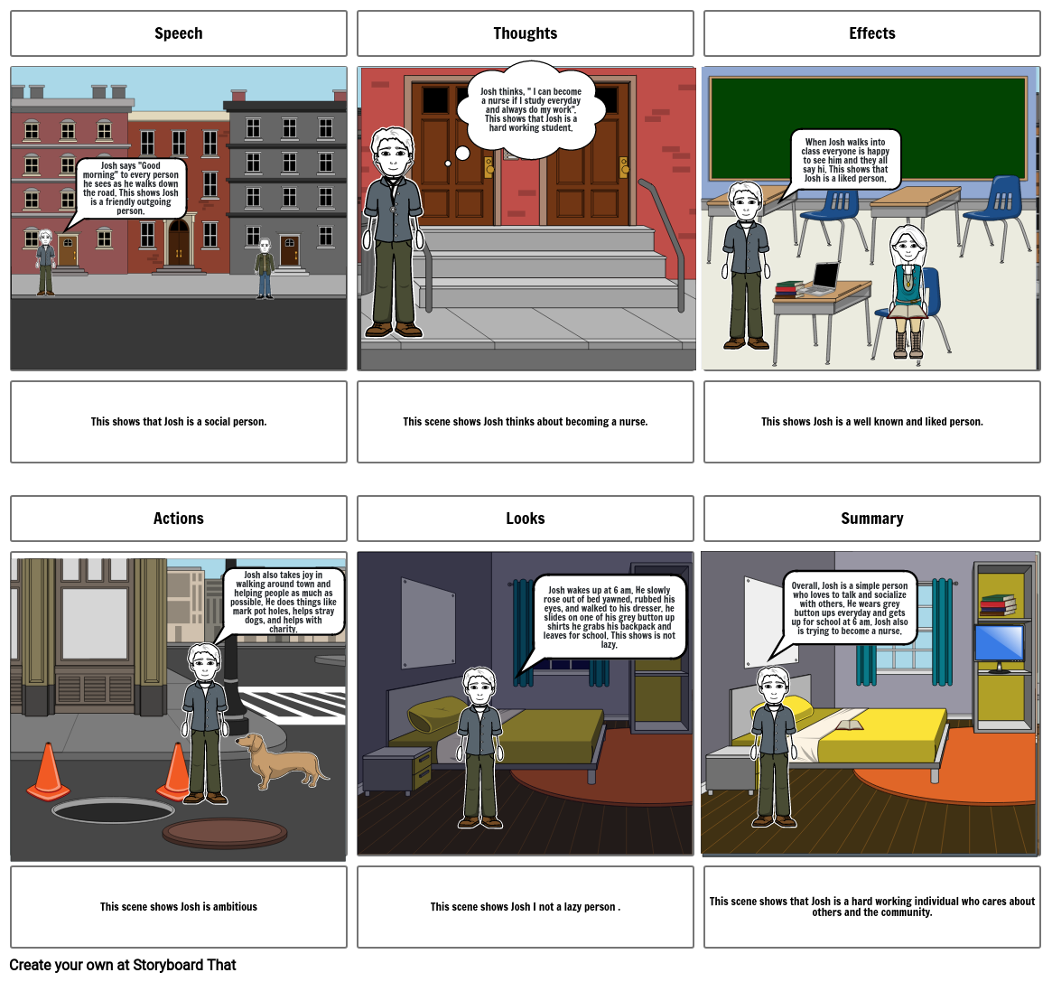 STEAL Storyboard