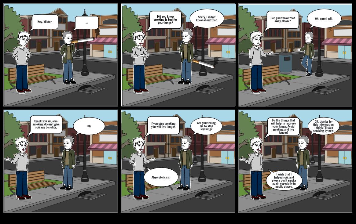 Comic Strip SCIENCE