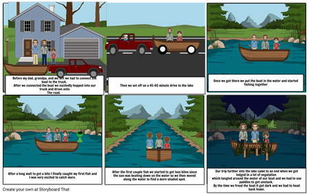 English Story Board
