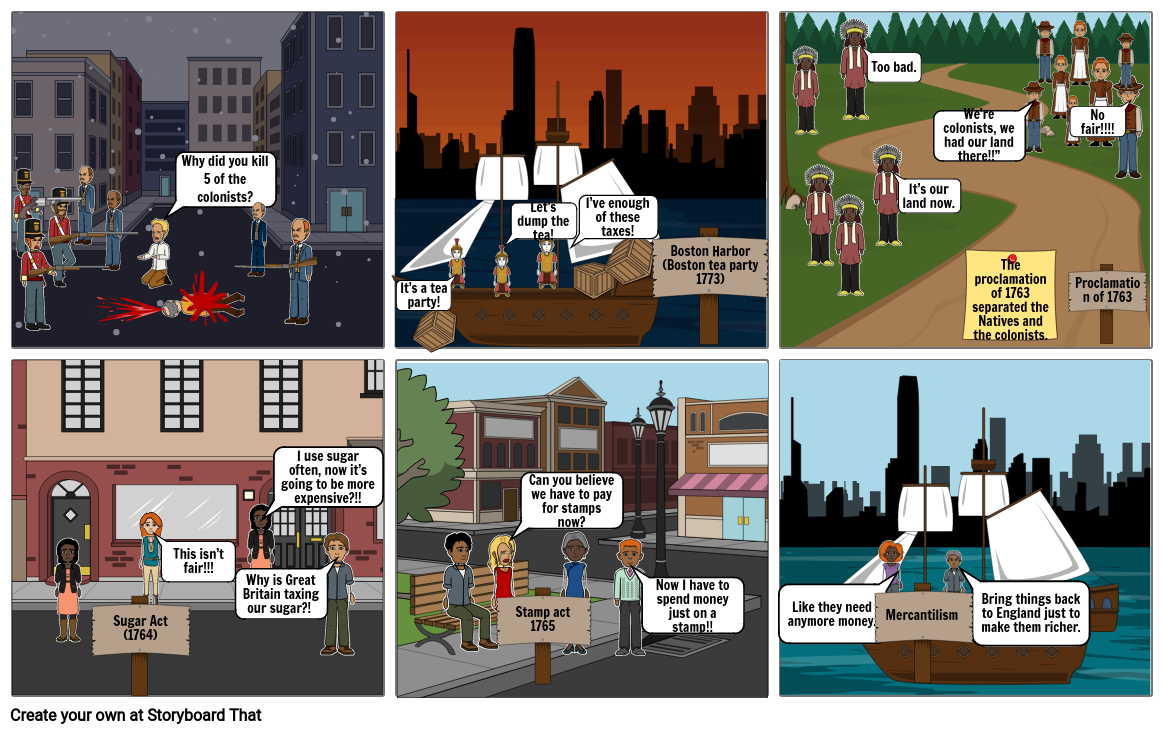 Acts Storyboard