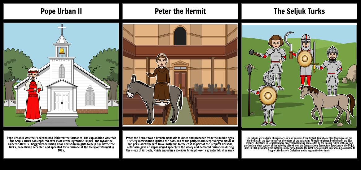Storyboard World His.: The Crusades
