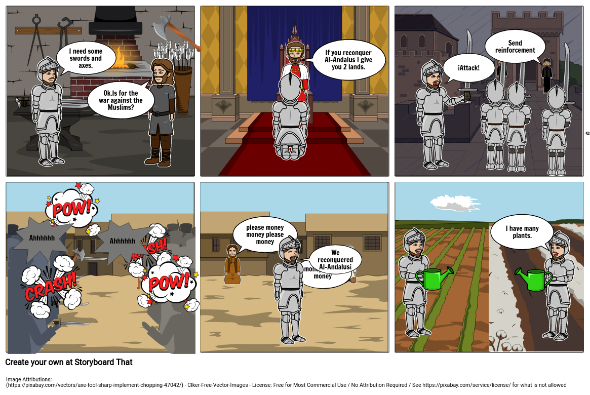 The reconquest of Al-Andalus