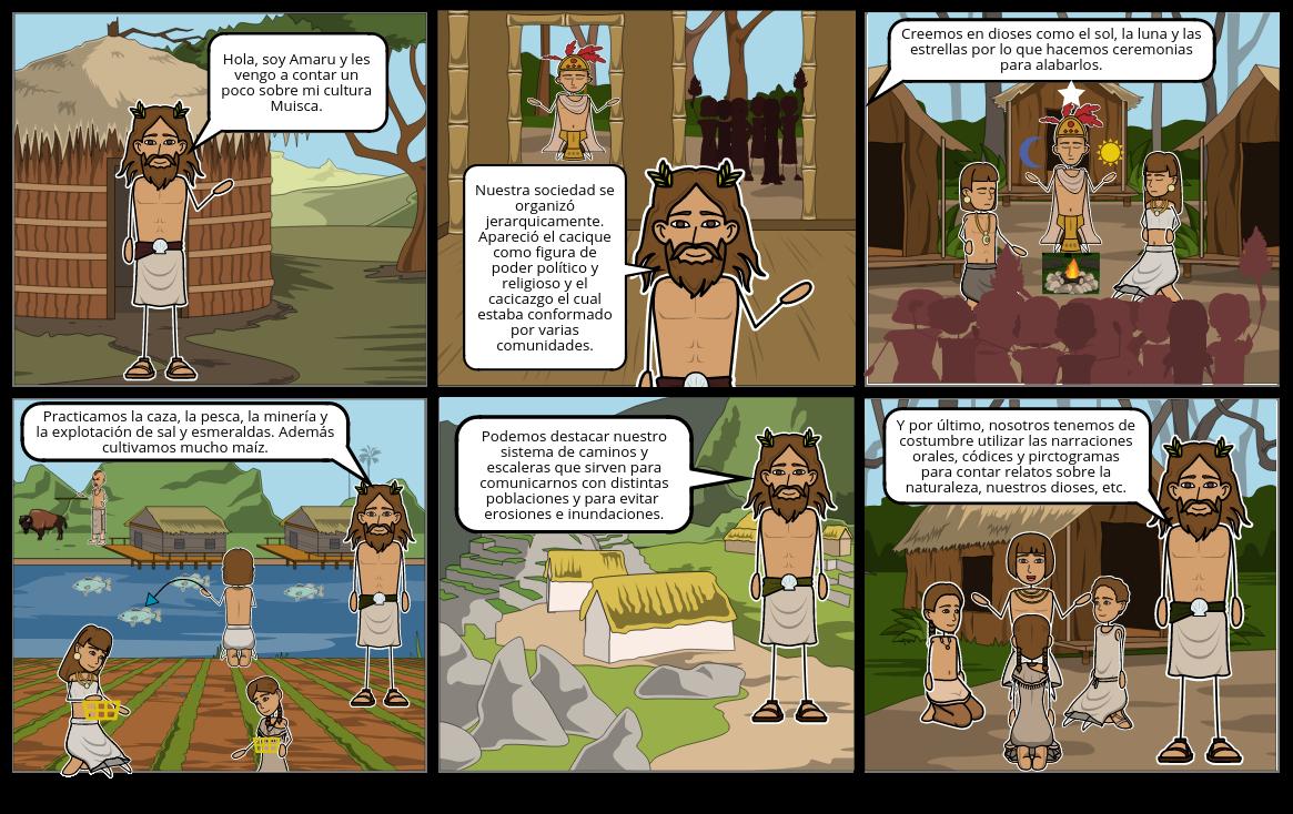 El mundo prehispánico - Los Muiscas - Aspectos culturales