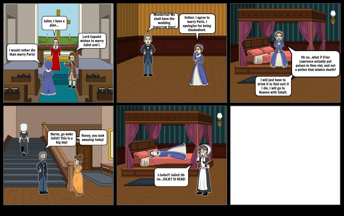 Romeo and Juliet- Act 1 Scene 3