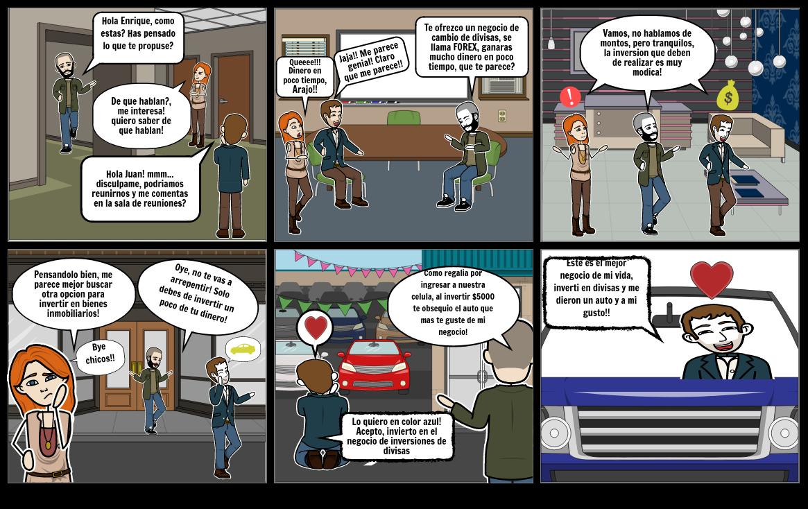 Historieta Inversiones Contabilidad II