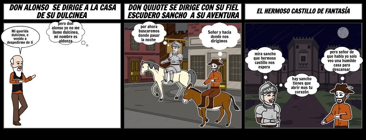episodio dos de don quijote de la mancha