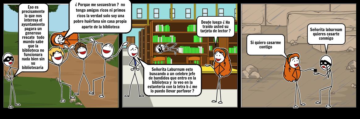 El secuestro de la bibliotecaria
