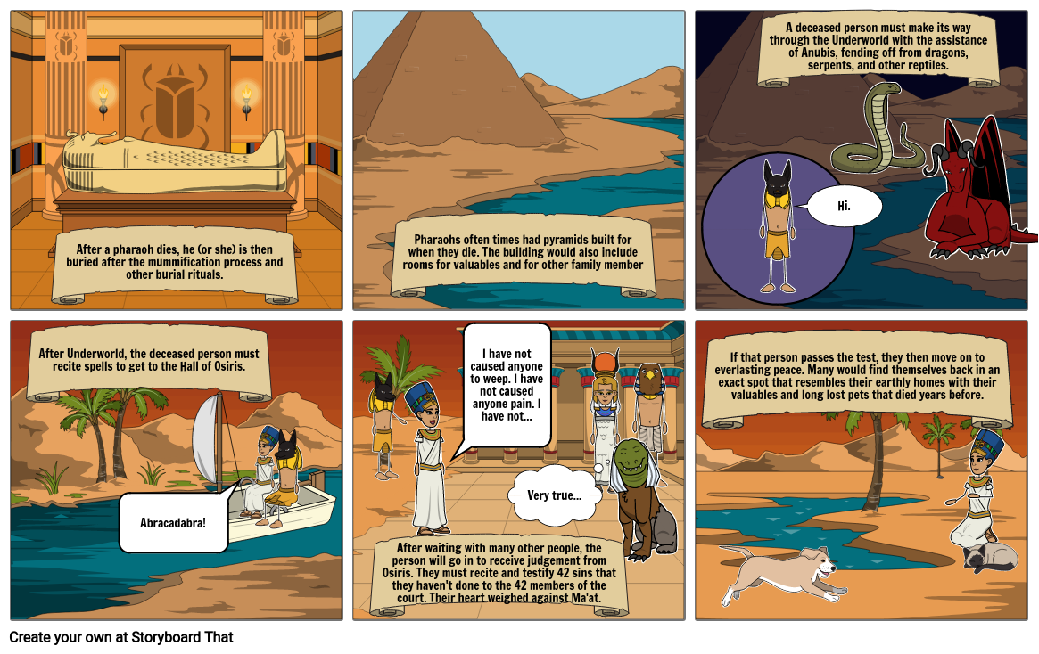 Afterlife Journey of an Egyptian