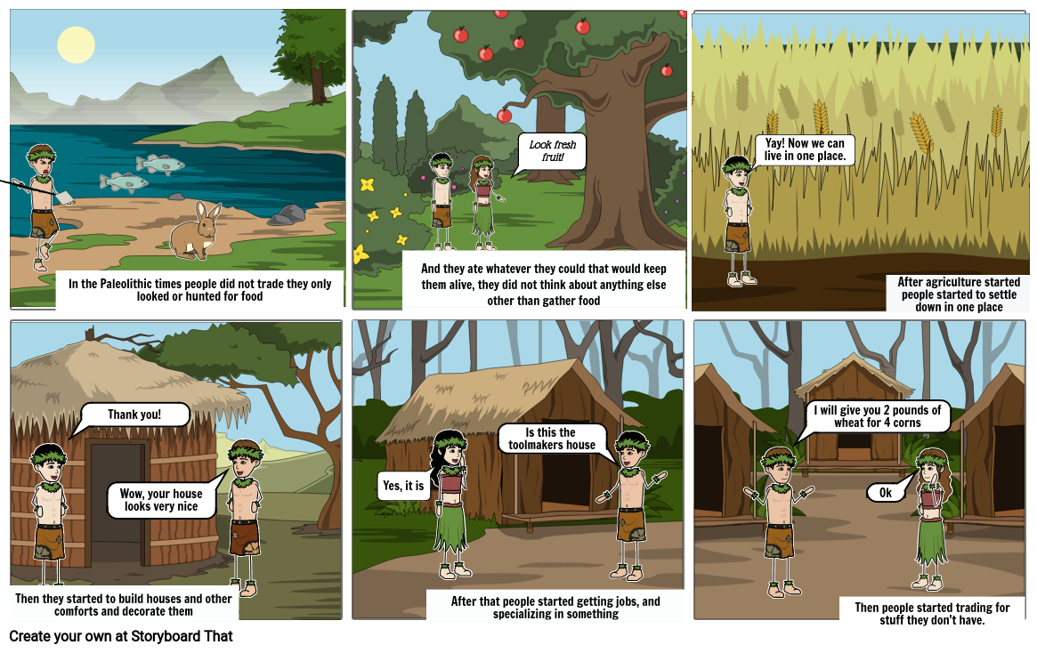 Paleolithic/Neolithic Cartoon