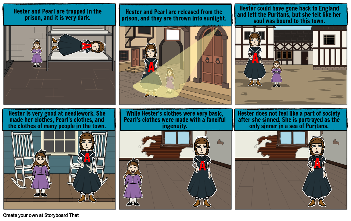 The Scarlet Letter Chapter 5 part 1