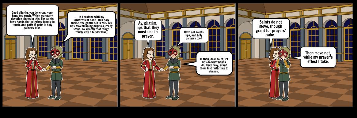 Romeo & Juliet meet