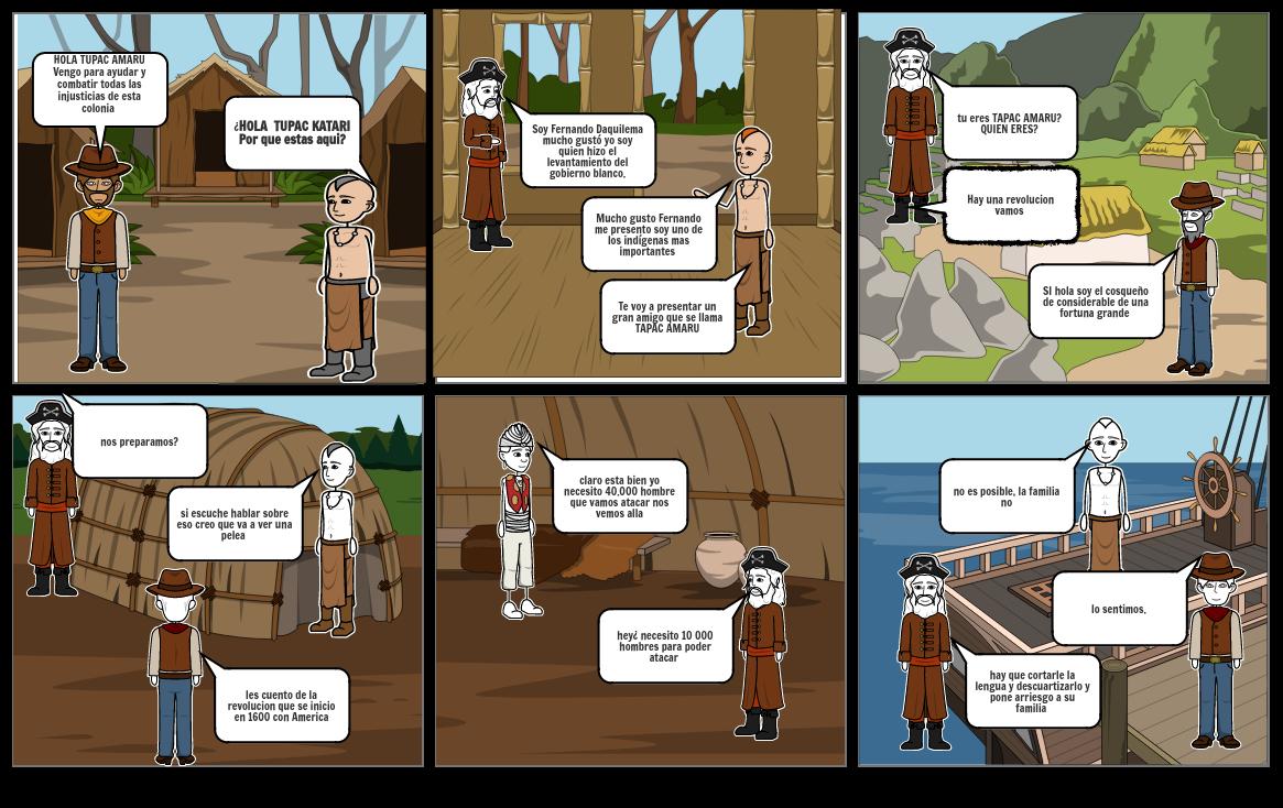 sublevaciones indigenas