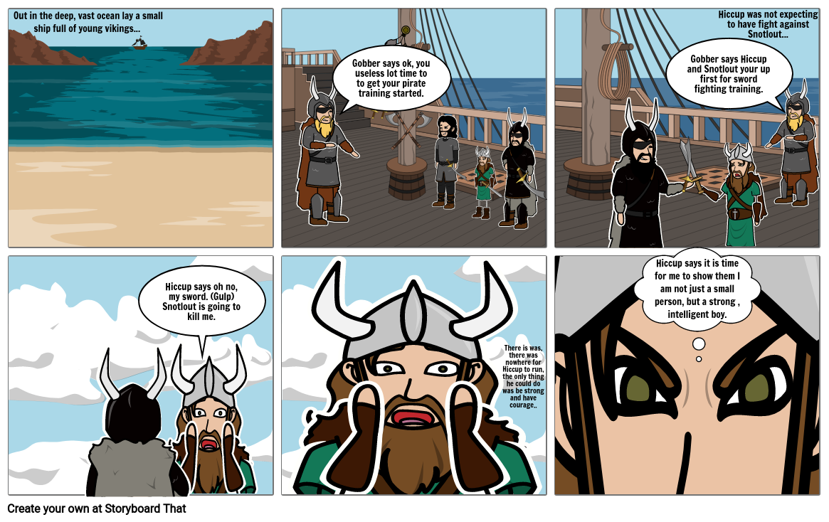tristan's comic book for httyd