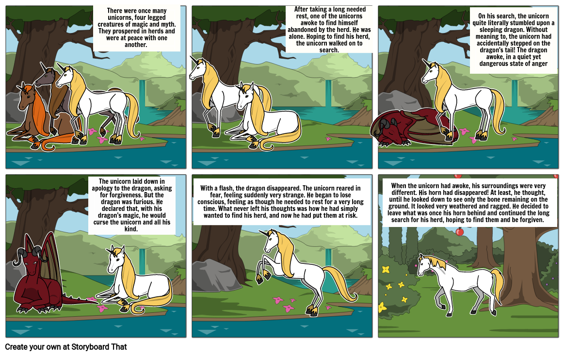 How the Unicorn Lost its Horn