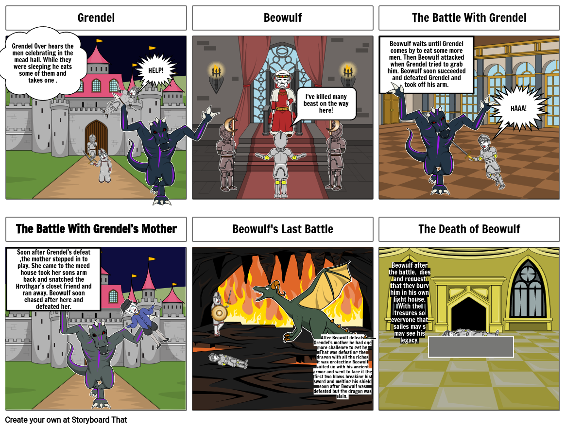 Story of Beowulf