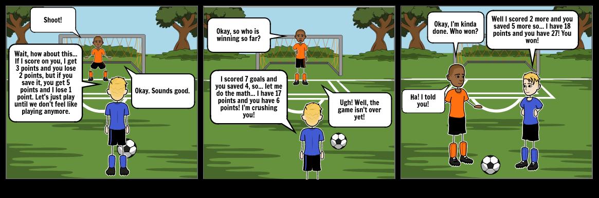 Math Soccer Project.