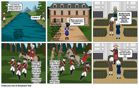 French and Indian War Comic