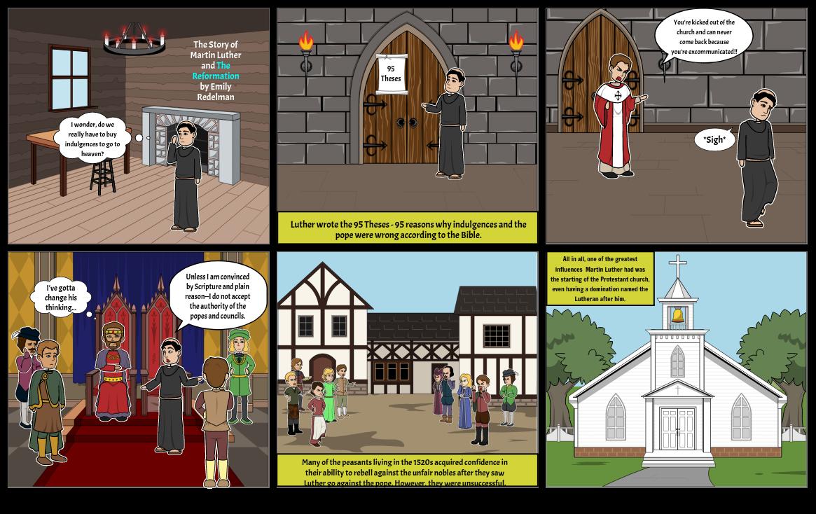 Reformation Storyboard