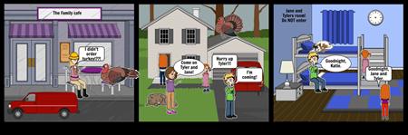 Turkey Storyboard- extra credit. LA