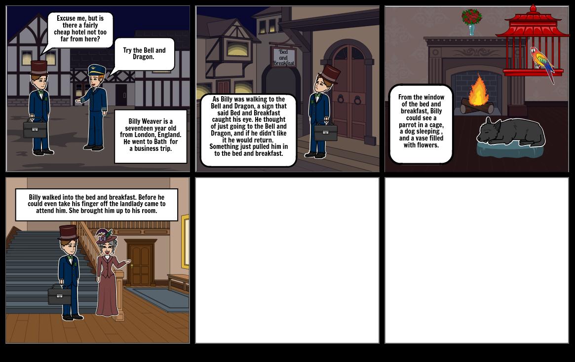 Landlady Comic Strip