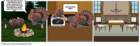 Anna Turkey Storyboard