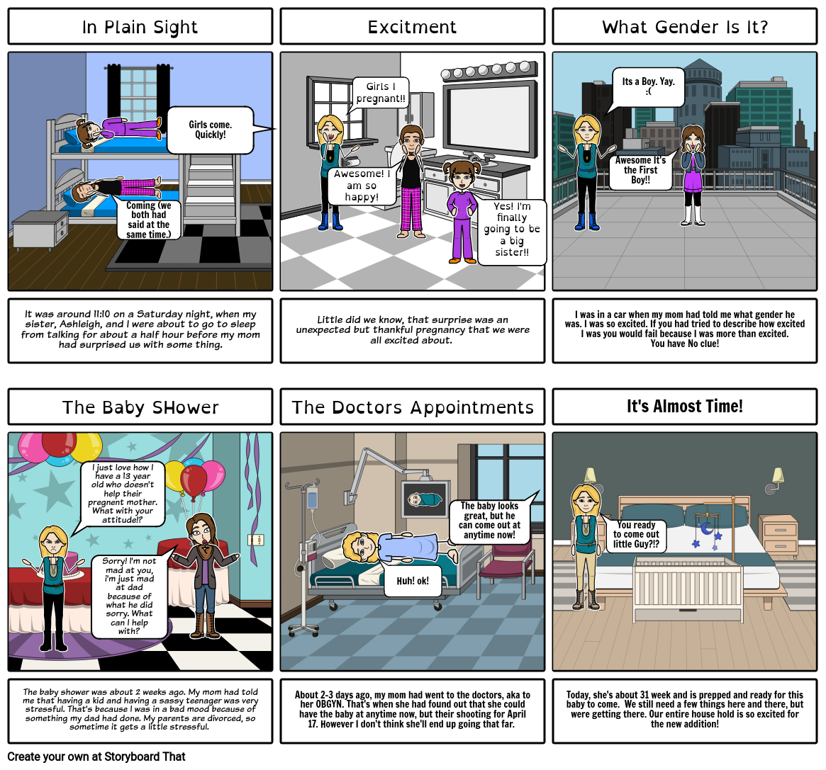 Storyboard- Active/passive voice