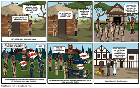 Manifest Destiny Comic Strip