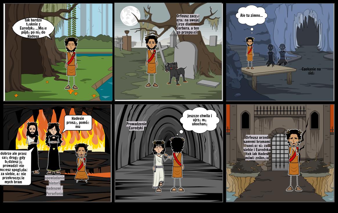 Mit o Orfeuszu i Euredyce