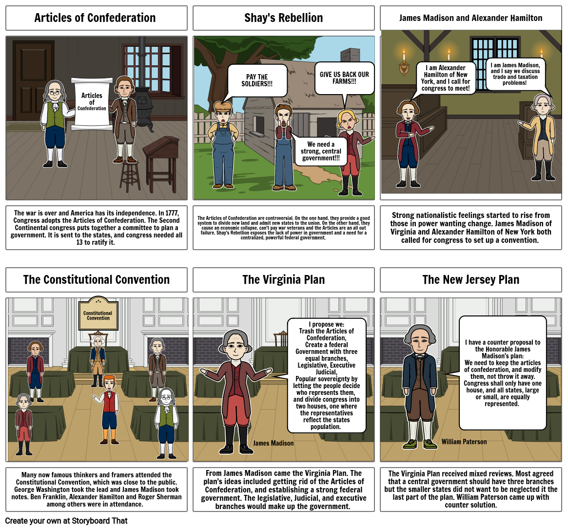 History - Constitutional Convention