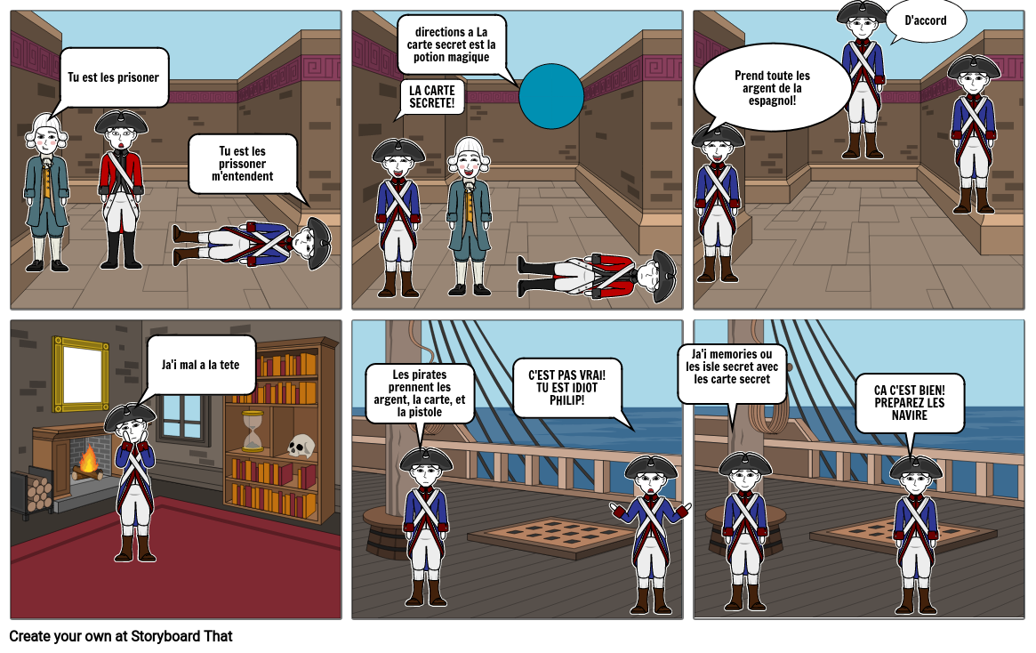 Chapter 7 and 8 for pirates