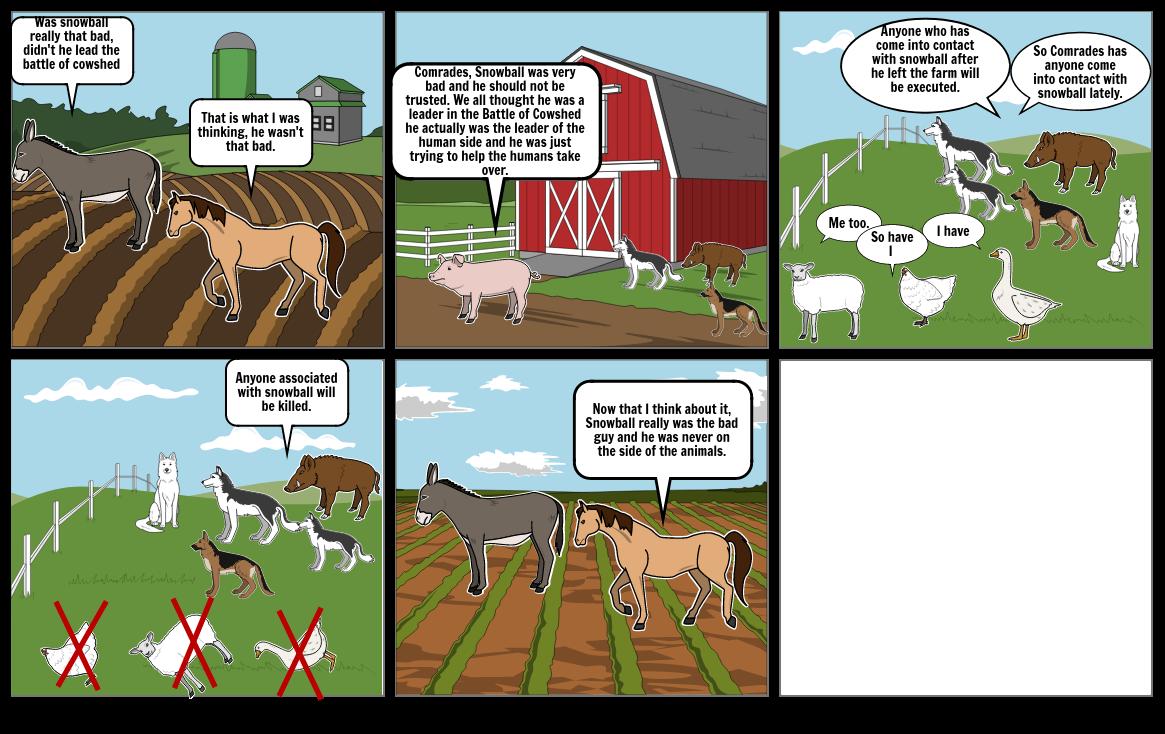 Animal farm comic strip