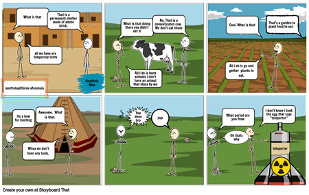 Neolithic Comic