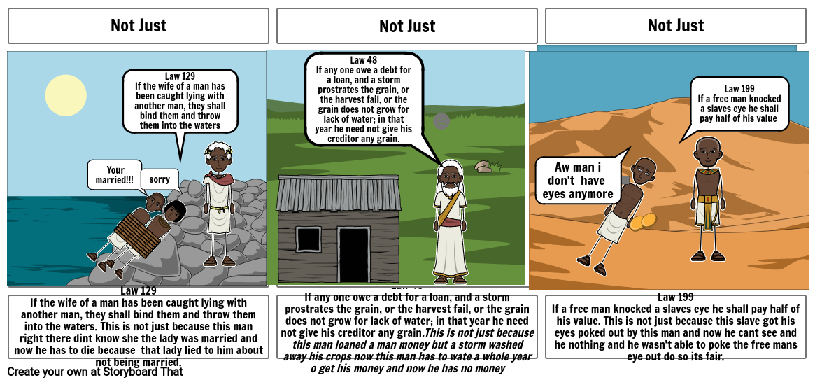 Hammurabi laws