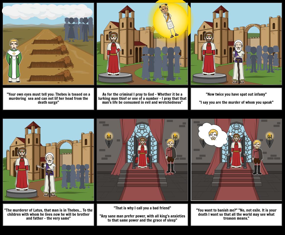 Oedipus Rex Comic