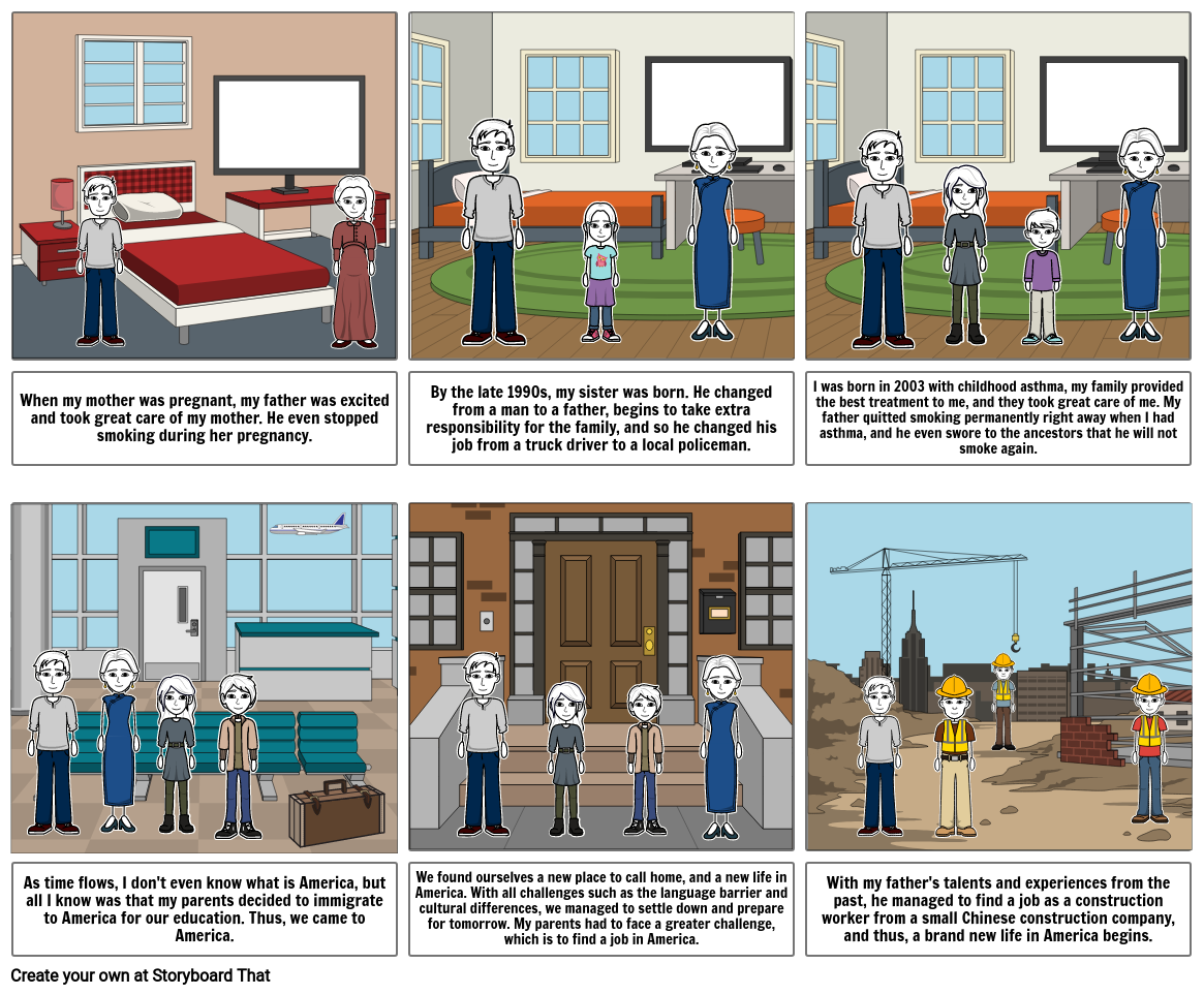 Parent Interview Story Board