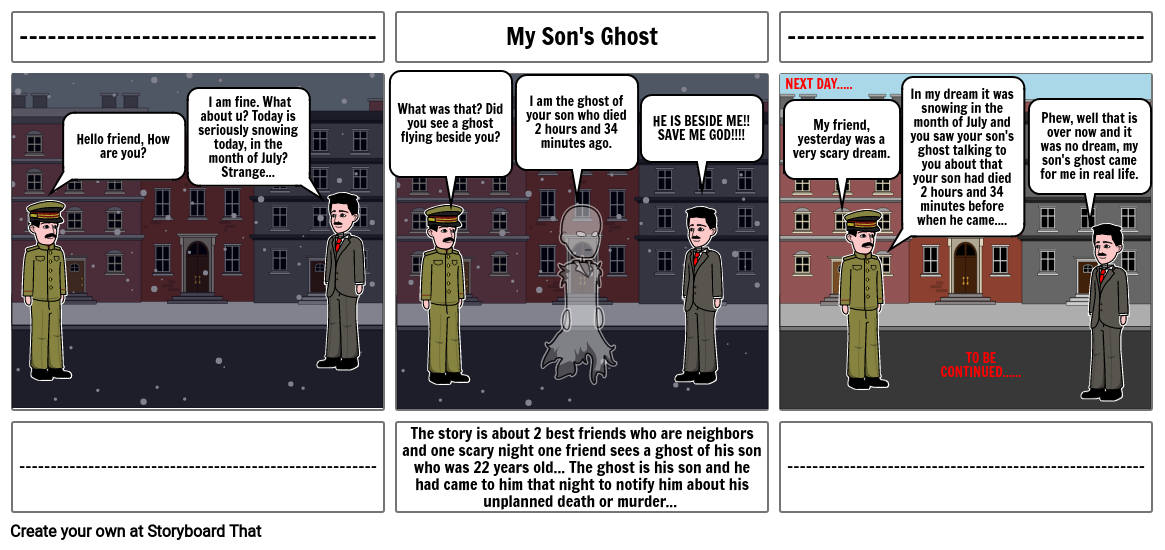 My Son's Ghost