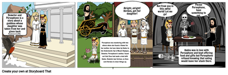 Demeter and Pheserophone