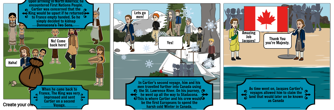 The Adventuress of Jacques Cartier (part two)